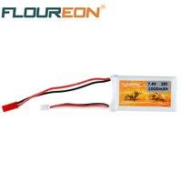 FLOUREON 2S 7 4V 1000mAh 20C Lipo Battery Pack JST Plug For RC Car Truck Truggy