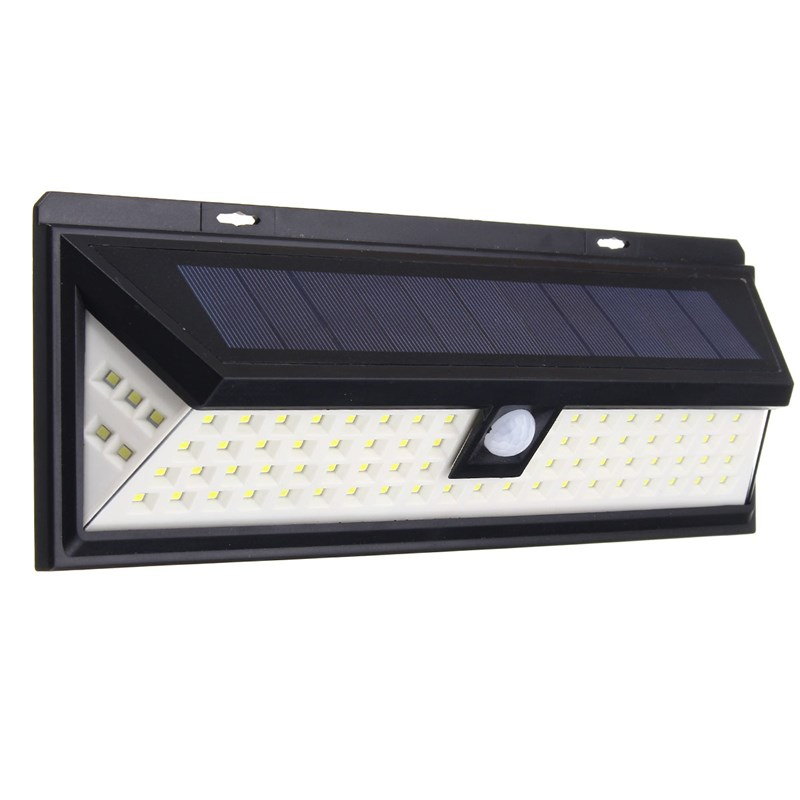 Waterproof 80 LED Solar Light Solar Powered PIR Motion Sensor Light Outdoor LED Garden Light Security