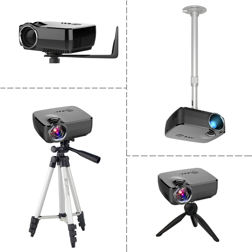 BYINTEK markası SKY GP70 Portativ Mini LED Kino Video Rəqəmsal HD - Evdə audio və video - Fotoqrafiya 6