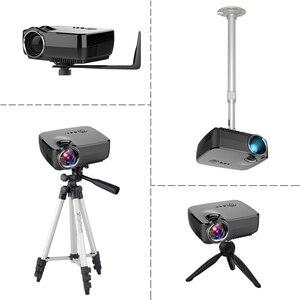 Image 5 - BYINTEK GP70 נייד מיני LED מקרן, קולנוע וידאו דיגיטלי HD קולנוע ביתי מקרן Proyector