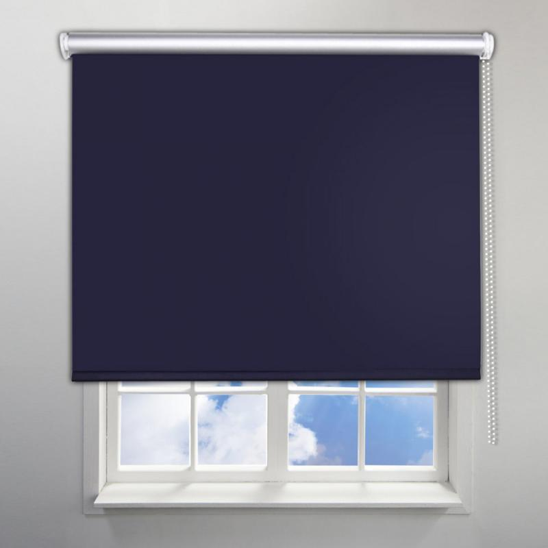 Solid Color Bead Shade Translucent Curtains Roller Blind