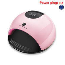 80W UV Nails Gel Curing Lamp Light Nails Gel Polish Dryer Nail Art Machine dust collector nail art machine(China)