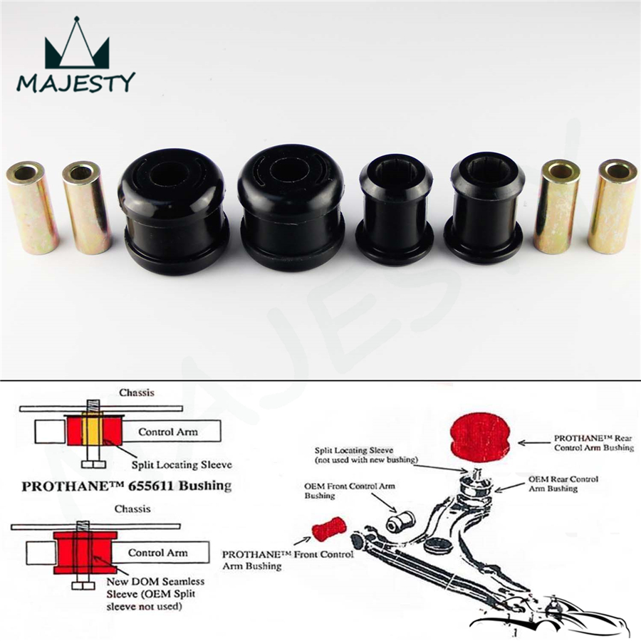 US $22 85 5% OFF|Prothane For 01 05 Honda Civic / 02 06 Acura RSX Lower  Control Arm Bushings-in Nuts & Bolts from Automobiles & Motorcycles on