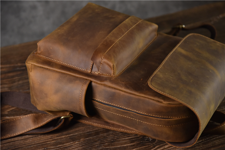 designer leather backpack