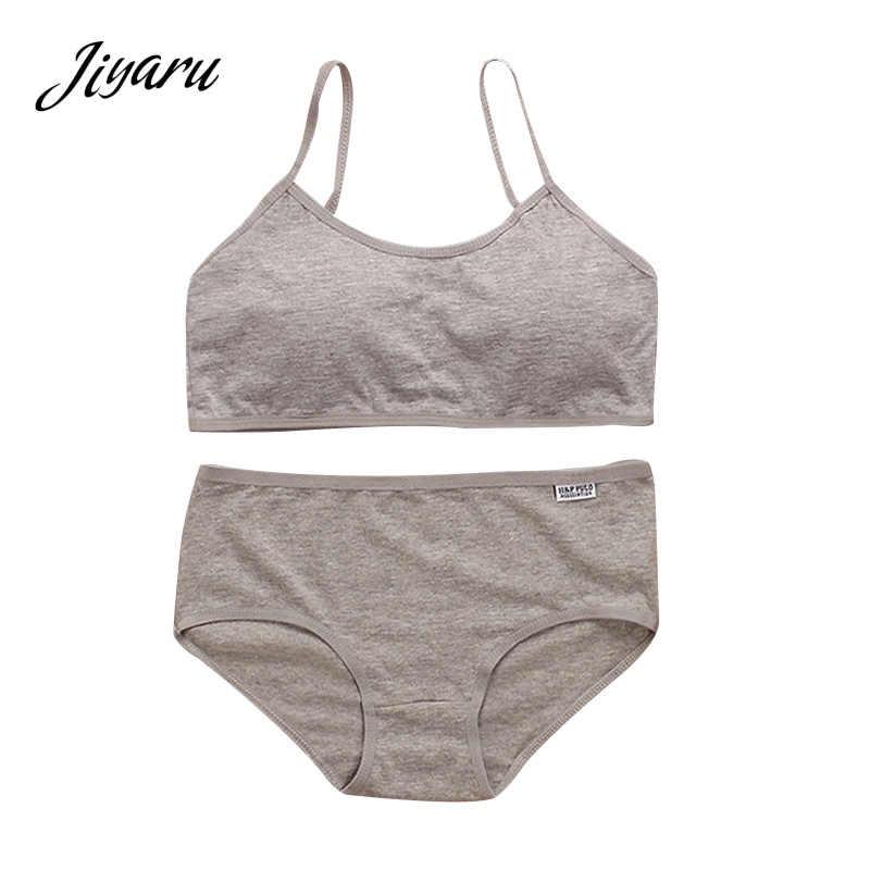 bced28b3a La pubertad de chica, ropa interior sujetador para niñas adolescentes de  sujetadores de entrenamiento +