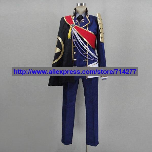 Бесплатная доставка на заказ Ichigo Униформа хитофури косплэй костюм меч танцы Touken Ranbu аниме комплект костюмы Рождество
