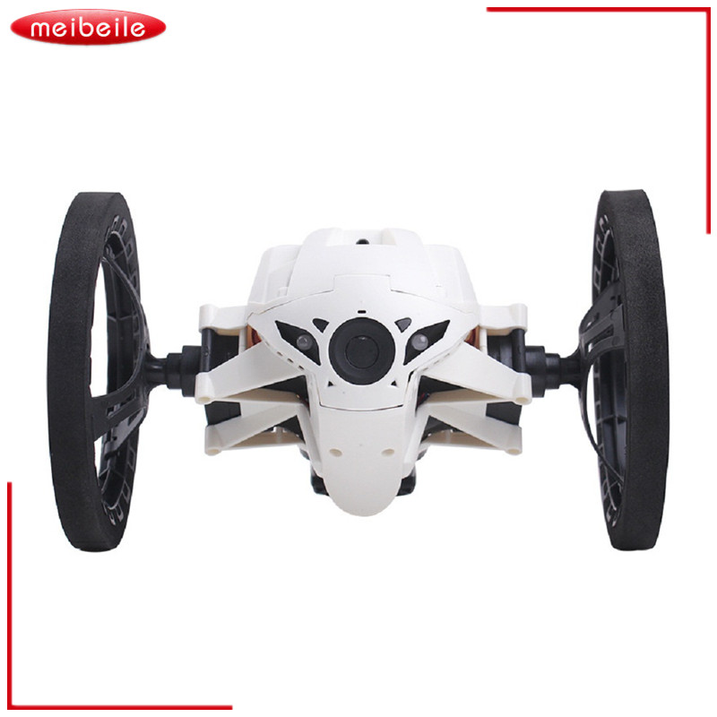 2016 New Electronic Bounce RC Car 4CH 2.4GHz with Flexible Wheels Remote Control Robot Muscial LED Flashing Car