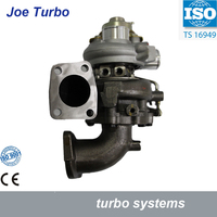 TF035 Turbo VGT 49135 02652 Turbocharger for Mitsubishi L200 2002 Challanger Pajero III Shogun 2001 07 2.5L TDI 4D56 115HP