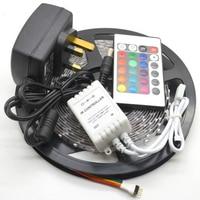 5M 3528 Non Waterproof SMD LED Strip 300 Leds 5m 3528 Rgb Led 24keys Controller 12v2a