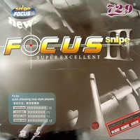 729 FOCUS III FOCUS3 FOCUS 3 FOCUS-3 Snipe Pips-en goma de ping pong de tenis de mesa con esponja de 2,1mm