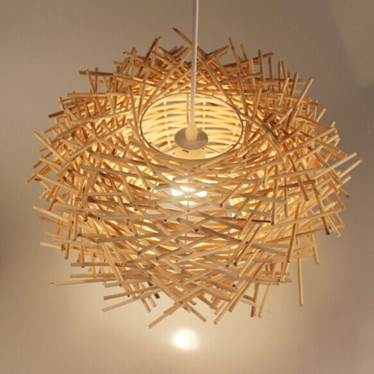 Bird S Nest Chandelier Lights Rattan Lamp Lighting Creative Personality Restaurant Bar Factory Outlets In Pendant From