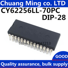 5 штук в упаковке, шт./лот CY62256LL-70PC CY62256NLL-70PXC CY62256LL CY62256 256 K(32 K x 8) Статическая оперативная память DIP28