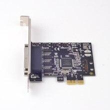 PCI-Express 4 Порты RS232 плата последовательного доступа RS-232 COM DB-9 адаптер MCS9904 Чипсет