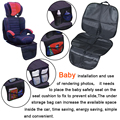 WUPP Premium child kick mat  car seat protector