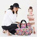 Fashional Multifunction Baby Diaper Bags/Nappy Changing Bag with Big Capacity Waterproof Mummy Bag V-0612