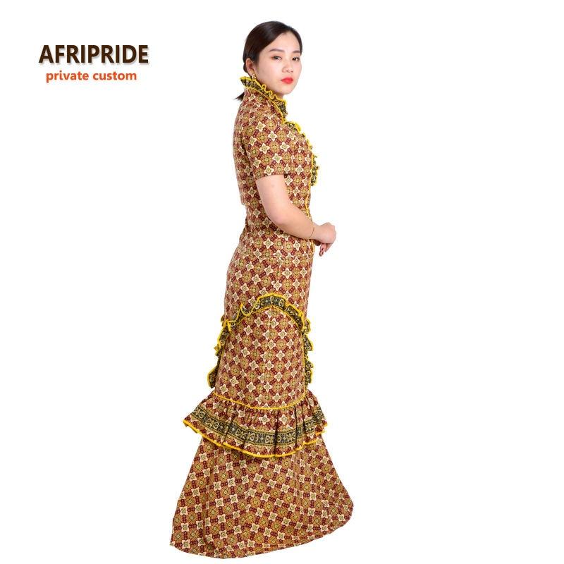 Pesta wanita tradisional Afrika ditetapkan AFRIPRIDE anakra mencetak - Pakaian kebangsaan - Foto 2