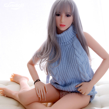 Cosdoll 158cm/165cm Optional Lovely Japanese TPE Silicone Sex Dolls for Woman Realistic Sex Toys Love Doll Oral Vagina Anal Sex