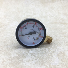NEW High Pressure Replacement Gauge, 0 - 3000 PSI, Homebrewing Co2 Regulator Gauge