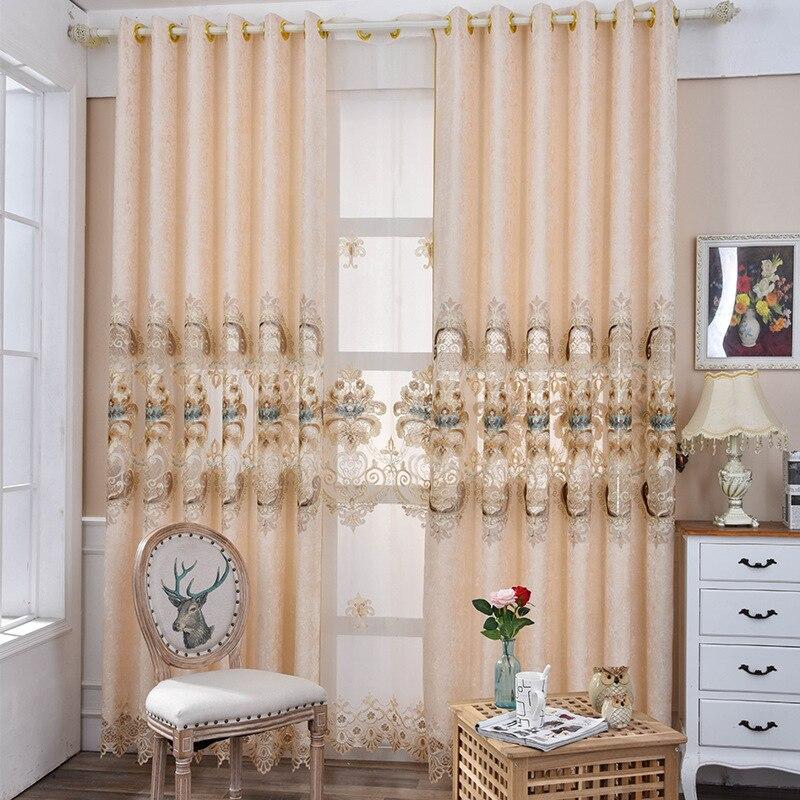 Elegant European Chenille Embroidery Exquisite Sunshade
