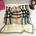 Mujeres de la marca desigual invierno bufanda a cuadros de moda cuadrados bufandas de acrílico bufandas delgadas de gran tamaño pashmina femme beach cover up cabo