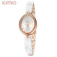 2017 KIMIO Watches Women Brand Luxury Wristwatch With Crystal Quartz Bracelet Watches For Girls Lady Clocks Relogios Feminino