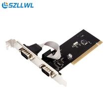 Промышленного управления PCI в последовательный порт COM порт RS232 9-контактный устройства PCI ПЛАТЫ расширения