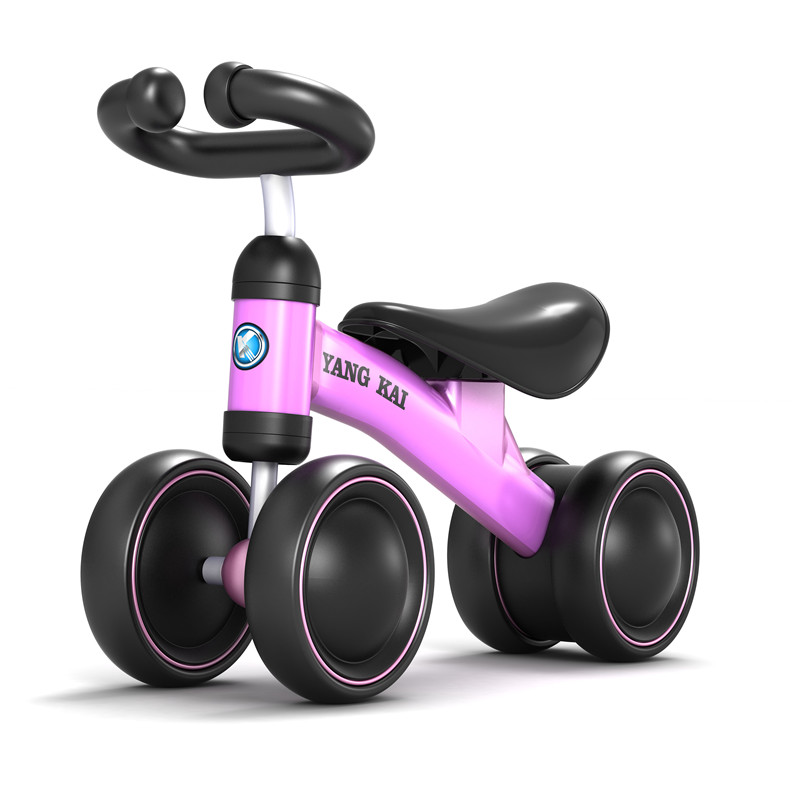 Детская качающаяся автомашина От 1 до 4 лет подарок на день рождения ребенка Twist lertwist Ride On Car Toys четыре колеса ручной игрушечный автомобиль Детский спортивный ходунк - 2