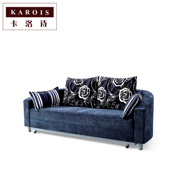 Circular Sofa Bed Double Pull Function Single Round Furniture