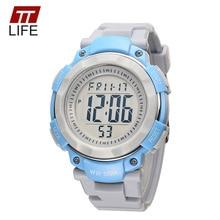 TTLIFE Children Watch Water Resistant Shock Resistant Casual Quartz Wristwatch Waterproof Kids Clock Alarm for boys girls 2016