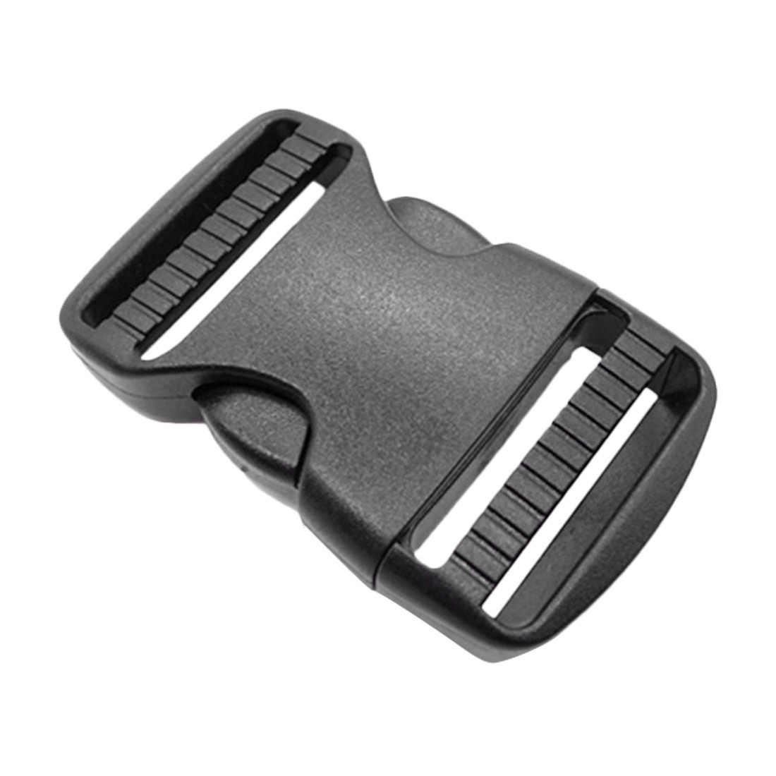 Черный пластиковый боковые регулировочные пряжки 38 мм двойной Регулируемый тактический рюкзак ремни для собак Свадебные аксессуары