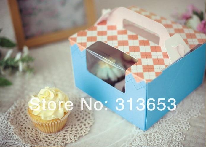 ツ)_/¯4 caja de la Magdalena agujero, cajas de torta del mollete ...