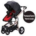 Bebé cochecito paisaje de alta plegable amortiguadores cochecito de bebé carro bb cochecito cochecito puede sentarse envío gratis