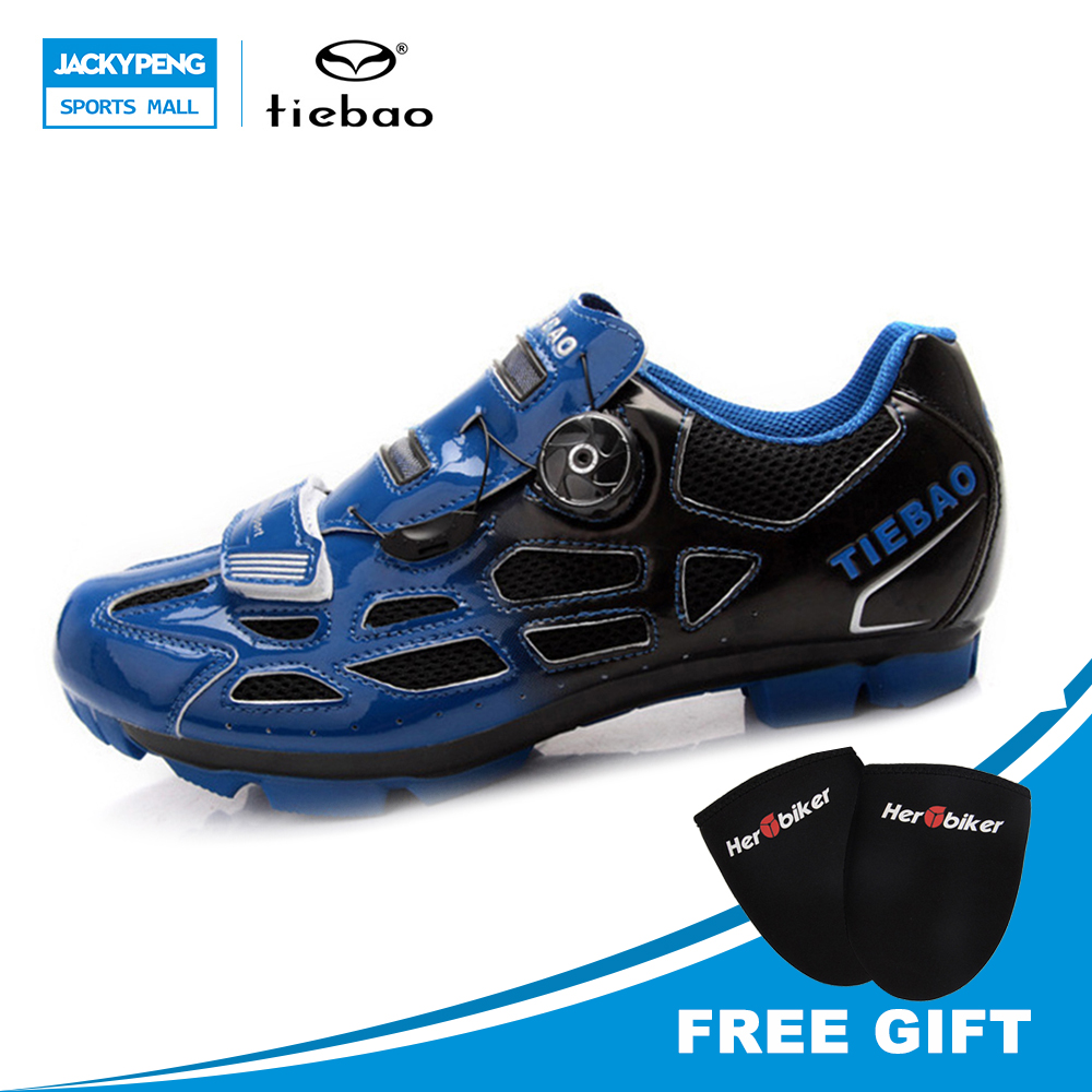 TIEBAO Outdoor Sport Cycling Shoes MTB Mountain Bike Shoes Blue Green Yellow Racing Self-Locking Athlet Shoes size 46 47 кепка r mountain jude 728 yellow