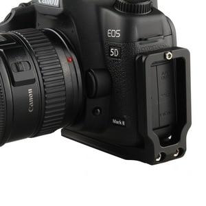 Image 3 - Универсальный быстросъемный вертикальный кронштейн L для Canon 5D EOS Mark II Mark III Arca Swiss RRS
