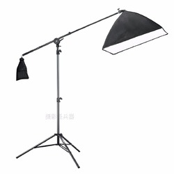 Desktop small photo lamp stand tripod studio flexible box flash holder professional portable folding shelf CD50