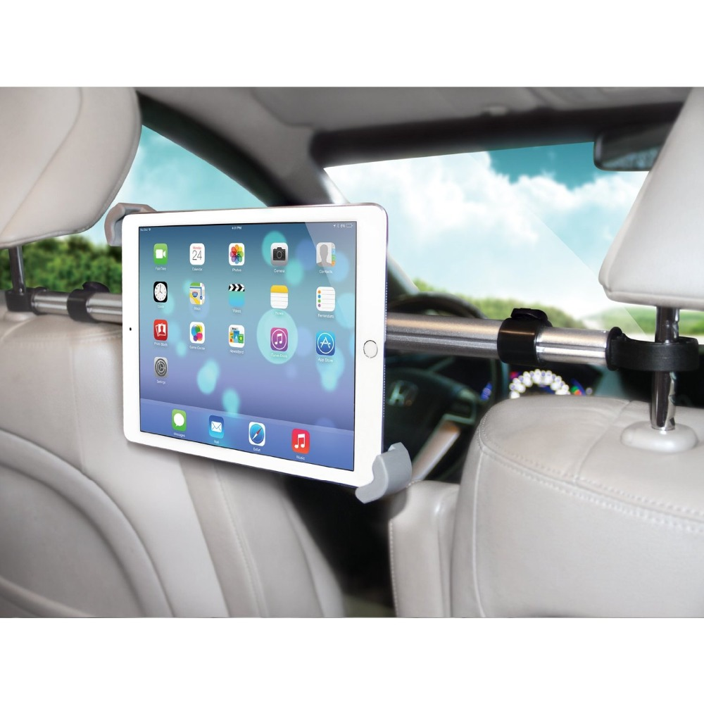 7 11 Aluminum Tablet Car Holder Back Seat Mount Stand Stents For Ipad Mini 2 3 4 Air Samsung Xiaomi Kindle In Stands From