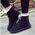 Botas de mujer 2016 nuevas mujeres de la llegada botas de invierno cálido botas de nieve botines de moda para mujer zapatos
