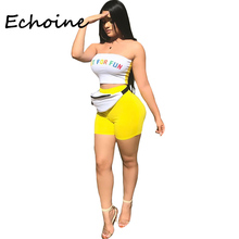 Echoine Color Patchwork 2 Piece Set Women Pant And Top