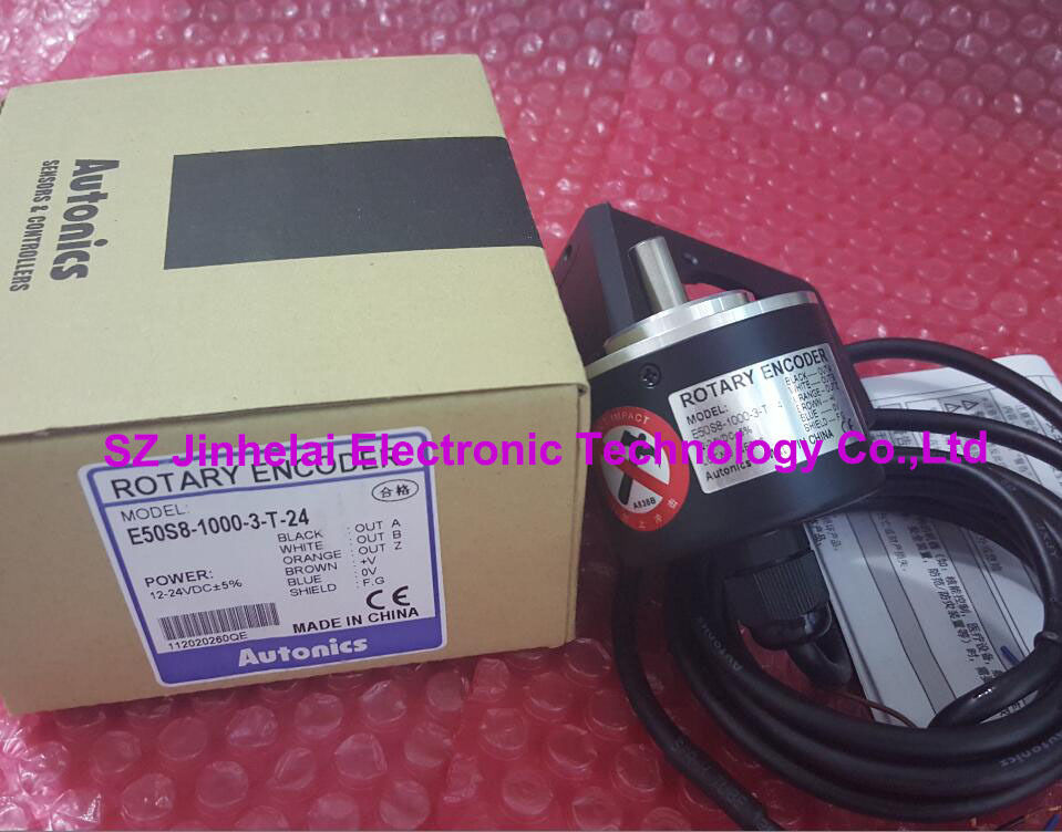E50S8-1000-3-T-24  New and original  AUTONICS  Incremental rotary encoder e50s8 1000 3 t 24 new and original autonics incremental rotary encoder