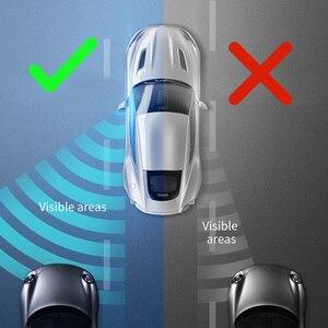 Image 2 - Baseus 2 шт. автомобиль 360 градусов HD слепое пятно выпуклое зеркало Авто зеркало заднего вида широкий угол автомобиля Парковка без оправы зеркала