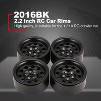HOT 4Pcs 64mm Metal Beadlock Rim Part for 1/10 RC Rock Crawler Axial SCX10 RR10 90053 AX10 Wraith 90056 90045 RC Car Accessories