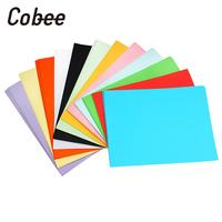 Coloured Printer Paper Coloured Copy Paper Coloured Paper Card 160gsm A4 Stationery Premium Scrapbooking Universal 100pcs