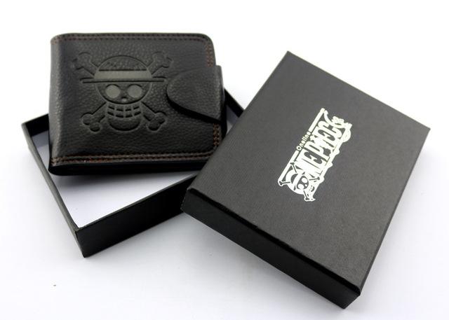 Pirates Anime Skull Wallet