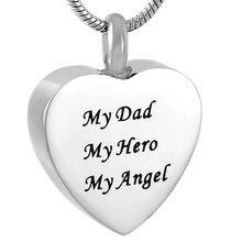 My Dad My Hero Urn Necklace