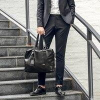 New Explosive Men's Handbags High end City Chao Men's Daily Bags
