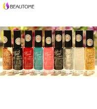 Sello de uñas 1 Botellas/LOT Nail Polish & sello esmalte de uñas art pen 20 colores Opcionales 10 ml Más atractivo 4 Estaciones!