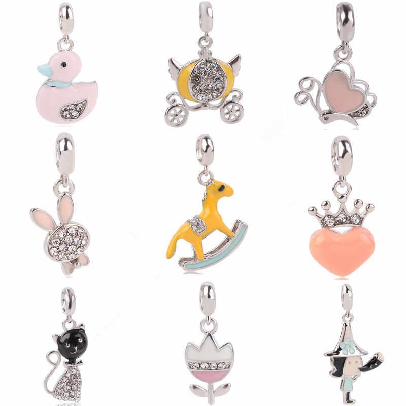 pendentif pour bracelet pandora chat