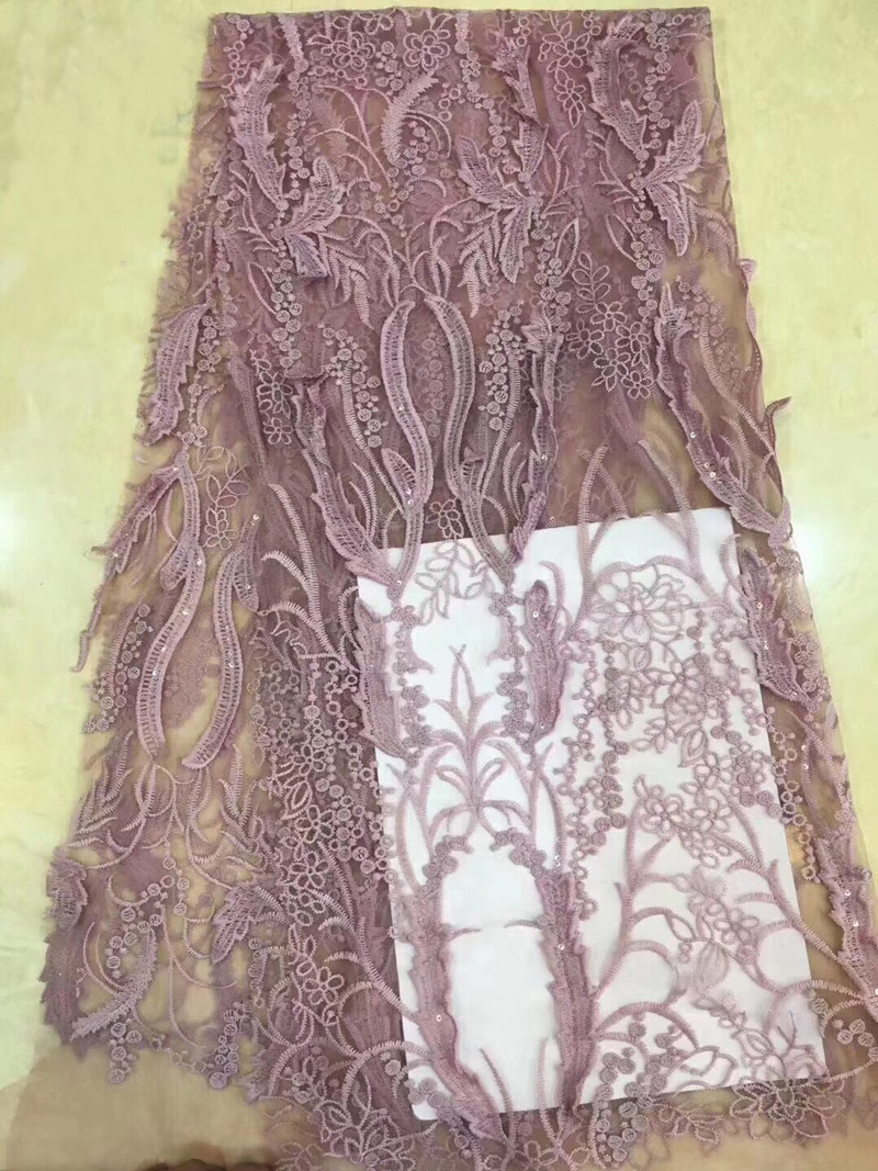 (5yards/pc) high quality African tulle lace fabric French net lace fabric with fine embroidery & sequins for party dress FZZ150(5yards/pc) high quality African tulle lace fabric French net lace fabric with fine embroidery & sequins for party dress FZZ150