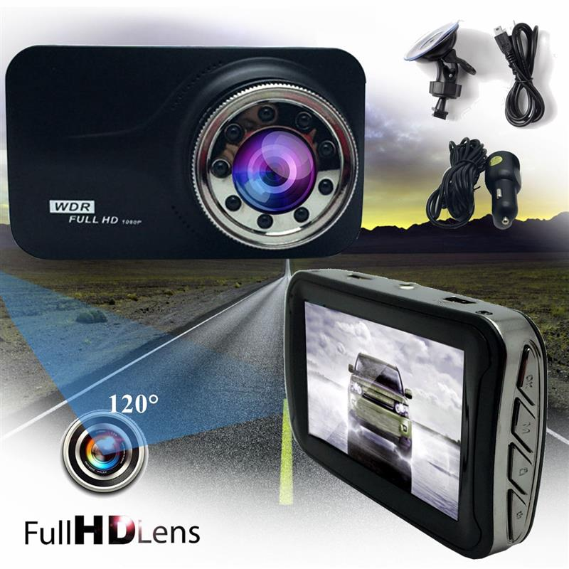 3 Inch Car DVR Camera Full HD 1080p Video Recorder Car DVR Driving Video Recording Dash Cam Night Vision DashCam