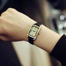 Новая Мода Hot Продажа Натуральной Кожи Женские Часы Старинные Часы Женщины Дамы Платье Часы 3 см Маленький Циферблат
